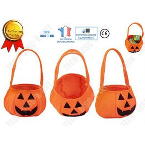 SAC À MAIN TD® sac citrouille halloween bonbons pour enfants