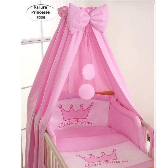 Ciel de lit bébé en tissu – Princesse rose - Achat / Vente ciel de ...