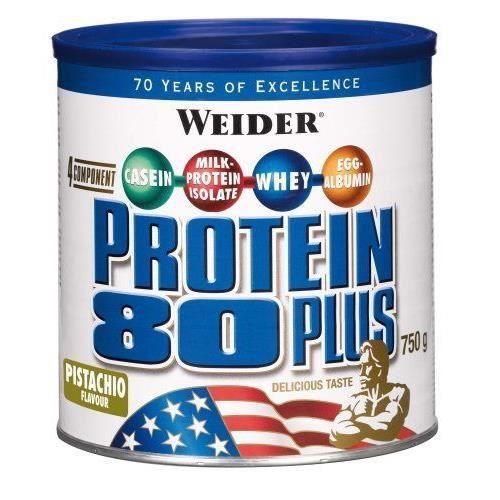 WEIDER Boîte de Protein 80+ Pistache 750g