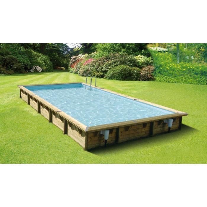 piscine hors sol bois 1 50m hauteur achat vente pas cher. Black Bedroom Furniture Sets. Home Design Ideas