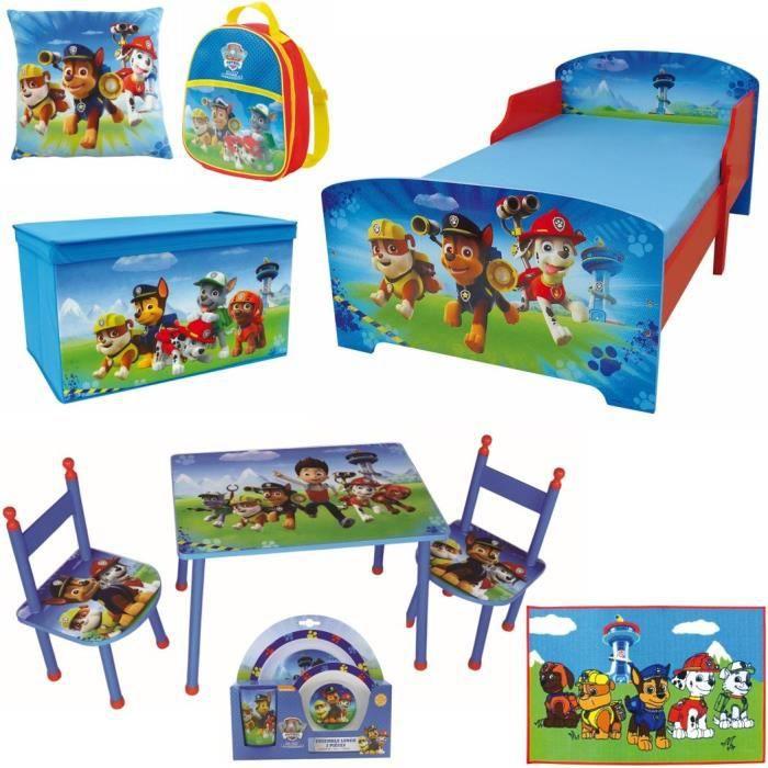 lit pat patrouille achat vente jeux et jouets pas chers. Black Bedroom Furniture Sets. Home Design Ideas