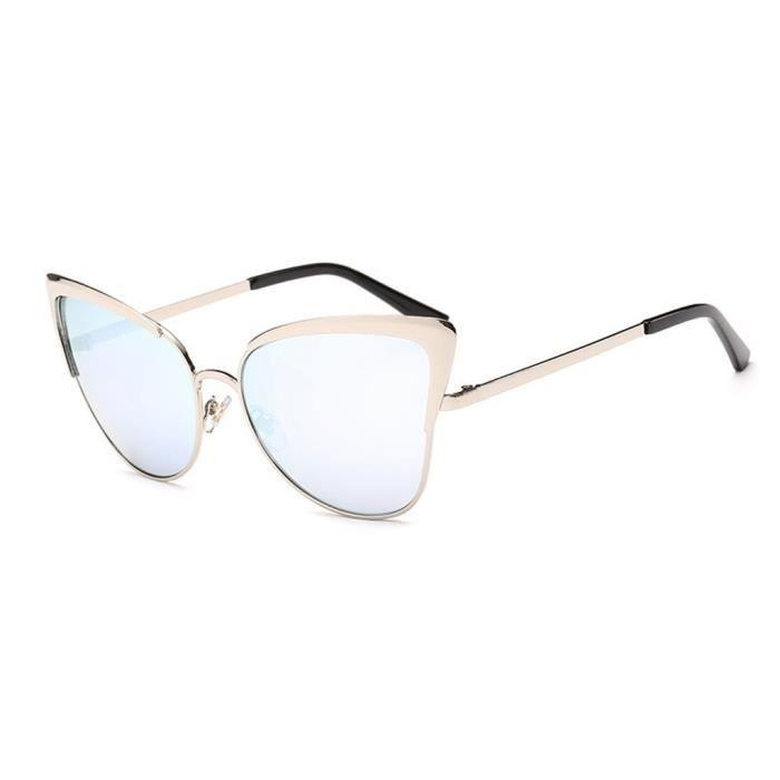 Les nouvelles lunettes de soleil de cadre en métal femmes lunettes de  soleil lunettes de voyage e6a6416ee0e2
