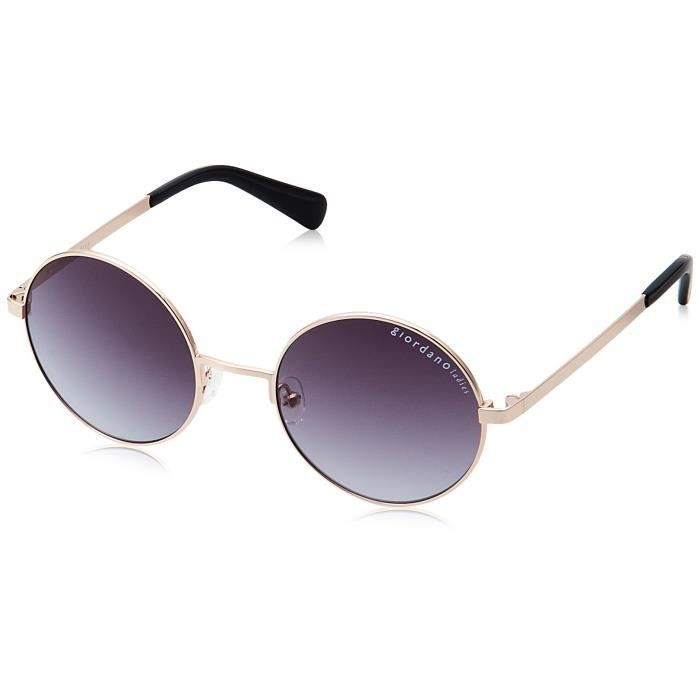 Giordano Uv Protected Round Sunglasses - (gls101c004|50|grey Gradient Lens) RFES7