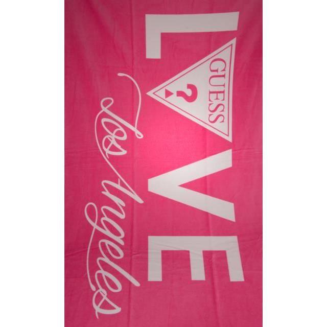 Serviette de plage GUESS   Achat / Vente serviette de plage