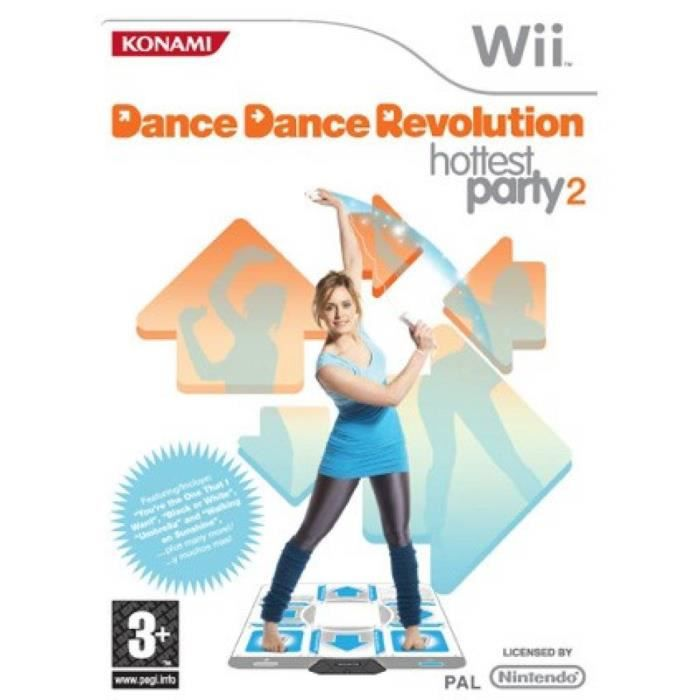 JEU WII Dance revolution hotest party 2- Wii