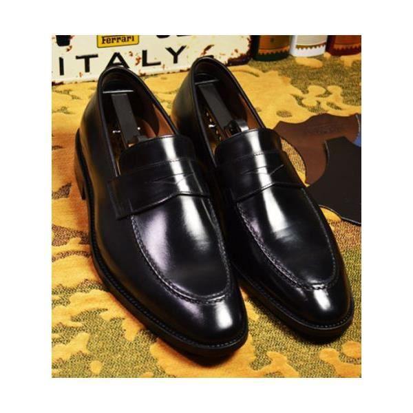 42c515a86fec4d Chaussures italiennes pour homme Noir - Achat / Vente mocassin ...
