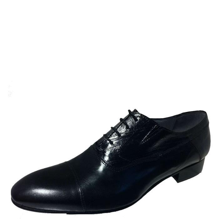Henry Lobb Lace Shoes Homme Black