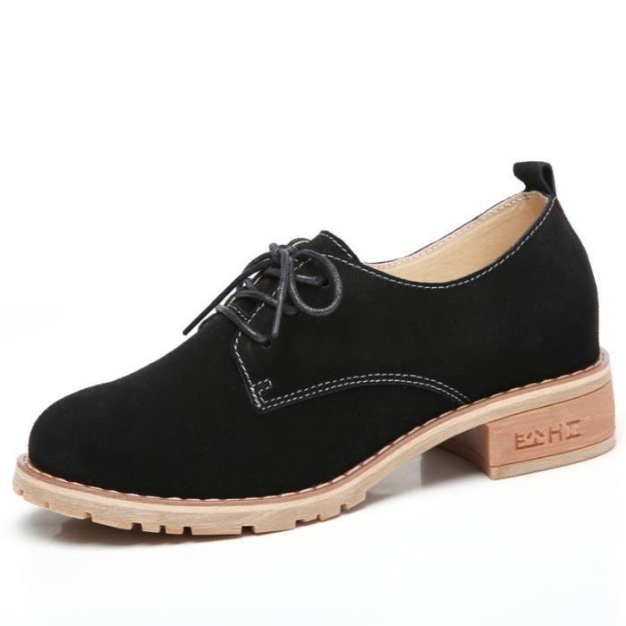 2018 printemps nouvelles dames chaussures en cuir chaussures de sport chaussures plates
