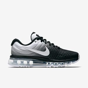 new arrival aab4b 48be0 ... BASKET NIKE Basket Homme Air Max 2017 - Running - Noir et ...