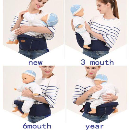5316f2401e6 Respirant Hauteur bébé Tabouret Porte-bébé avec Comfort Strap