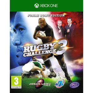 JEU XBOX ONE Rugby Challenge 3 Jeu Xbox One