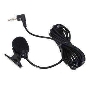 CASQUE AVEC MICROPHONE 3.5mm Hands Free Clip Sur Mini Microphone pour PC