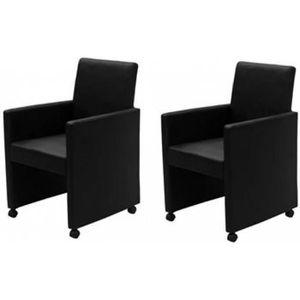 FAUTEUIL Chaises de cuisine et de salle a manger 2 fauteuil