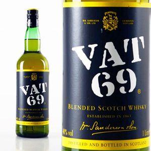 WHISKY BOURBON SCOTCH Spiritueux - Other Blended Malts - VAT 69 (old sty