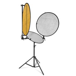 FILTRE - REFLECTEUR Kit Réflecteur de Lumière Studio Photo 78cm et 57c