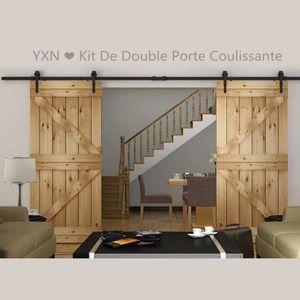 Rail porte coulissante achat vente rail porte - Rail double porte coulissante ...