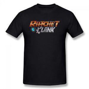 T-SHIRT Ratchet Clank Design T-shirt Coton Homme À Manches