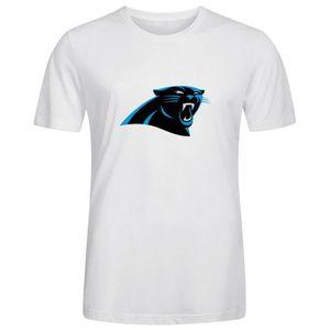 hot sales 93d10 b1582 T-SHIRT Homme Unique Personnalisé Coton T shirt NFL Caroli
