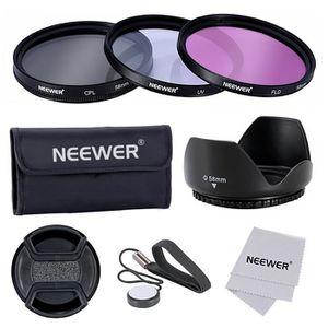 FILTRE PHOTO Neewer 58mm Kit de Filtre Accessoire Professionel