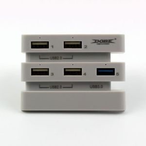 HUB CONSOLE Dobe USB Hub pour PS4 Pro Console de Jeux 4 Ports