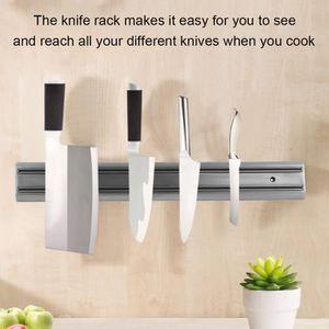 Support mural cuisine achat vente pas cher - Porte couteau magnetique ...