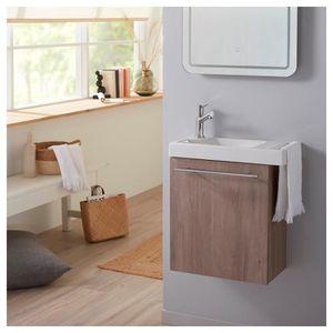 LAVE-MAIN Pack lave mains chêne colorado avec lave mains por