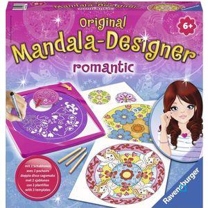 JEU DE MODE - COUTURE - STYLISME RAVENSBURGER Mandala Designer Romantic