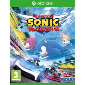 JEU XBOX ONE Team Sonic Racing Jeu Xbox One + 1 Figurine Offert