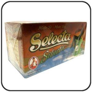 THÉ Yerba Mate Selecta Sachets de thé Silueta