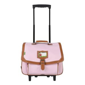 CARTABLE TANN'S Trolley 2 compartiments primaire fille - 38