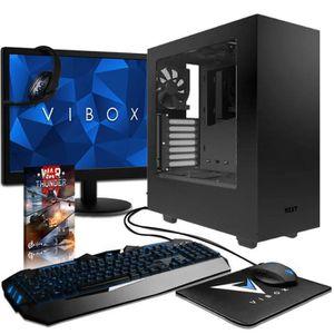 UNITÉ CENTRALE + ÉCRAN VIBOX Submission 29.50 PC Gamer Ordinateur avec Je