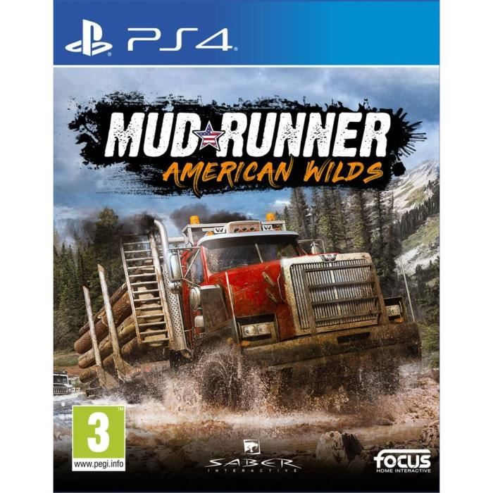 Spintires Mudrunners AWE Jeu PS4