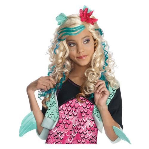Perruque Lagoona Blue Monster High Fille Achat Vente