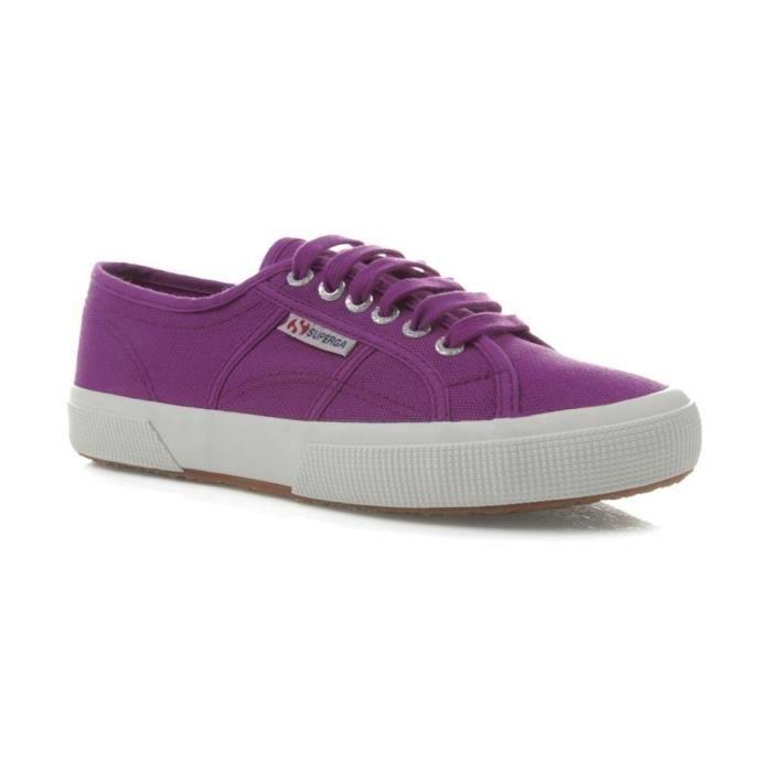 Superga Unisexe 2750 Cotu Chaussures Classiques, Dahlia, Vert, Marine, Violette