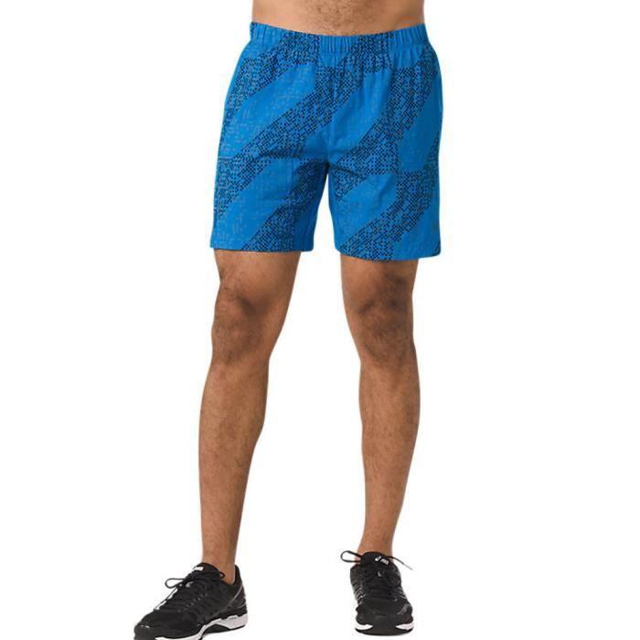 709df643e25 Asics Hommes Lite-Show 7 Inch Short De Sport Gym Course À Pied ...