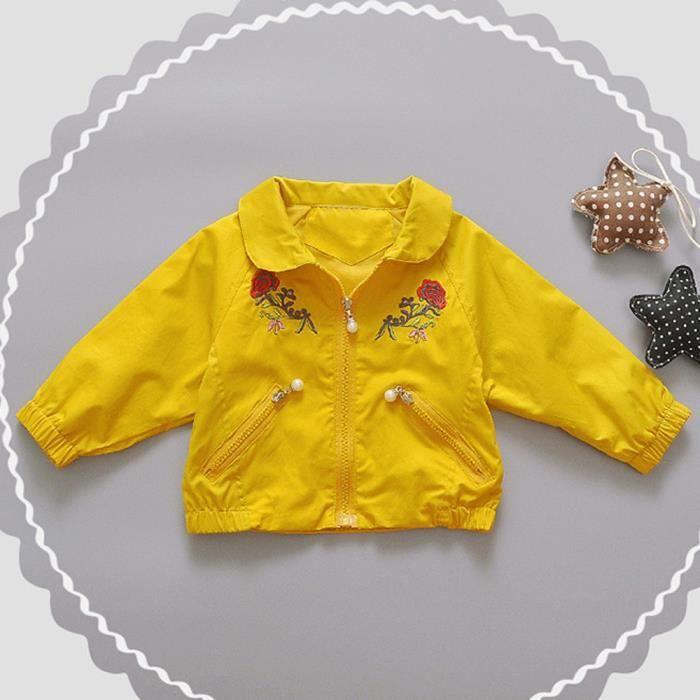 Tout-petit Enfant Bébé Garçons Filles Vêtements Zipper Hauts Manteau Vestes  Cardigan Outwear Pageare3001 fb821c49f480