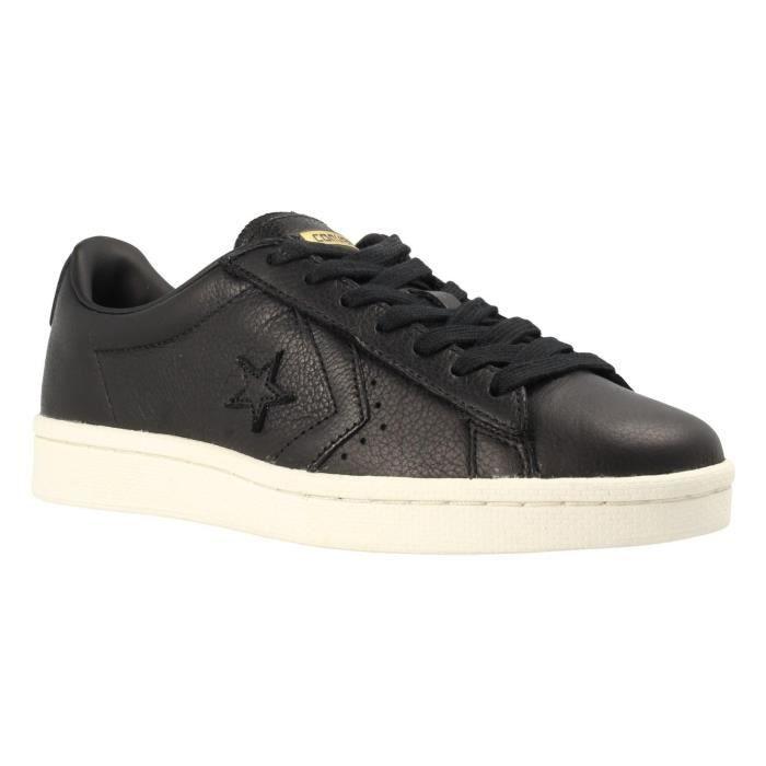 Taille Noir Pro Converse Chaussures NoirMarqueModèle Ox 76 38 3gr7ez ChaussuresCouleur Cuir yvmNw0On8