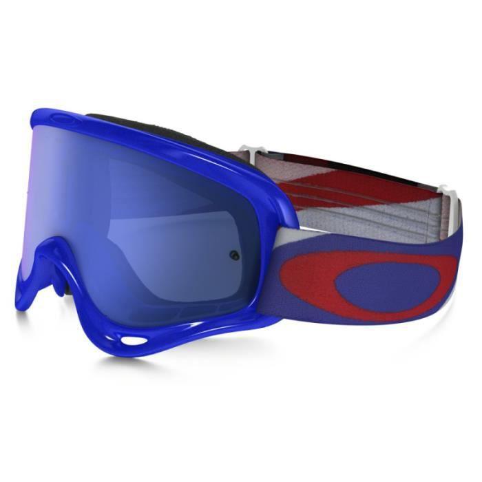 Écran IridiumTransparent Heritage Ice Cross Frame Blue Oakley Racer Masque O BCxWrdoe