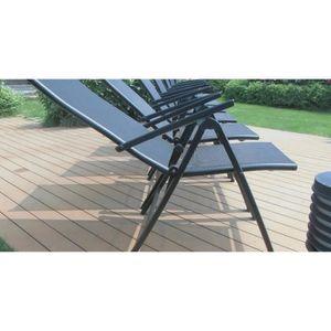 Salon de jardin aluminium 8 places - Achat / Vente Salon de jardin ...