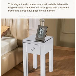 Table de chevet miroir - Achat / Vente pas cher