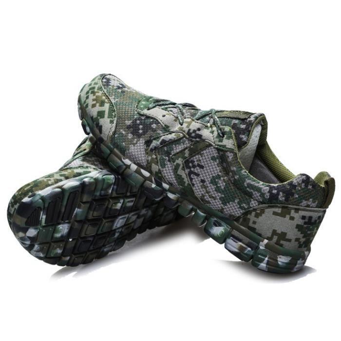 Camouflage Gris Basket homme chaussure de sport course jogging Entrainement respirant Mess imperméable antidérapant haute qualité MD TzlzGK5Ww1