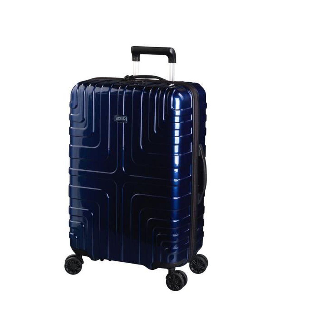 Valise rigide Jump Crossline 67 cm Bleu mN5Ttk2