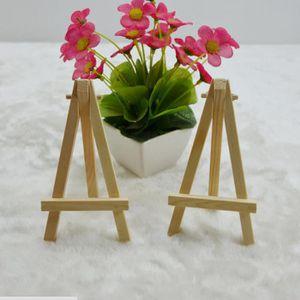 CHEVALET DE PARTITION 10 × mini-chevalet triangulaire en bois - petit af