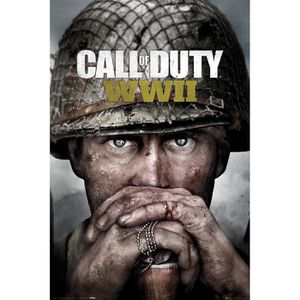 AFFICHE - POSTER Affiche maxi Call of Duty WWII Key Art
