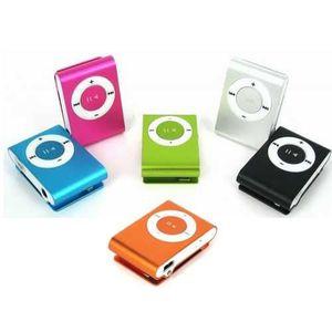 LECTEUR MP3 Mini Clip MP3 (livré avec écouteurs) - noir