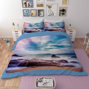 housse de couette mer achat vente housse de couette mer pas cher soldes d s le 10 janvier. Black Bedroom Furniture Sets. Home Design Ideas