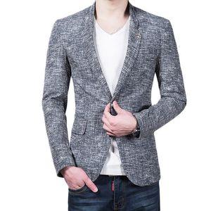 Lin Cher Achat Coton Vente Homme Pas Blazer qE4fpPx
