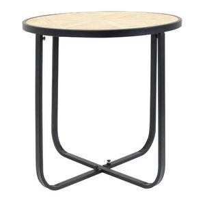 Table basse ronde bois metal achat vente table basse for Table ronde bois et metal