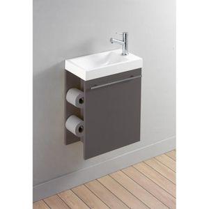 LAVABO - VASQUE Meuble lave-mains complet avec distributeur de pap