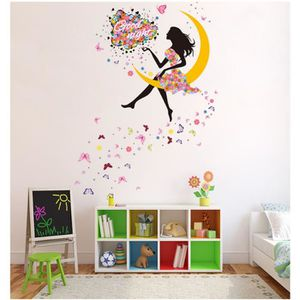 stickers muraux fille achat vente pas cher. Black Bedroom Furniture Sets. Home Design Ideas